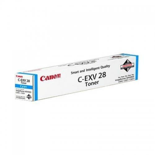 CARTUS TONER CYAN C-EXV28C 38K ORIGINAL CANON IR C5045