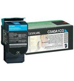 CARTUS TONER CYAN RETURN C540A1CG 1K ORIGINAL LEXMARK C540N