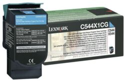 CARTUS TONER CYAN RETURN C544X1CG 4K ORIGINAL LEXMARK C544N