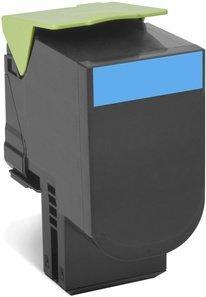 CARTUS TONER CYAN RETURN NR.802SC 80C2SC0 2K ORIGINAL LEXMARK CX310N