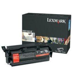 CARTUS TONER HC X651H21E 25K ORIGINAL LEXMARK X651DE