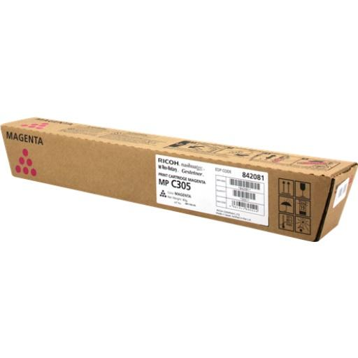 CARTUS TONER MAGENTA 841596/842081 4K ORIGINAL RICOH AFICIO MP C305SP