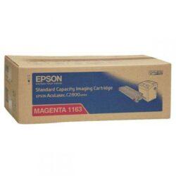 CARTUS TONER MAGENTA C13S051163 2K ORIGINAL EPSON ACULASER C2800N
