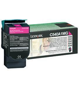 CARTUS TONER MAGENTA RETURN C540A1MG 1K ORIGINAL LEXMARK C540N