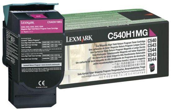 CARTUS TONER MAGENTA RETURN C540H1MG 2K ORIGINAL LEXMARK C540N