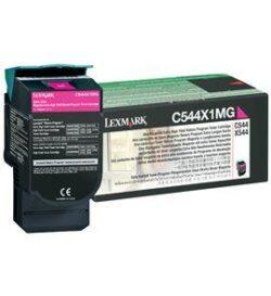 CARTUS TONER MAGENTA RETURN C544X1MG 4K ORIGINAL LEXMARK C544N