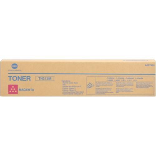 CARTUS TONER MAGENTA TN-213M A0D7352 19K ORIGINAL KONICA MINOLTA BIZHUB C203