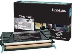 CARTUS TONER RETURN BLACK X746H1KG 12K ORIGINAL LEXMARK X746DE