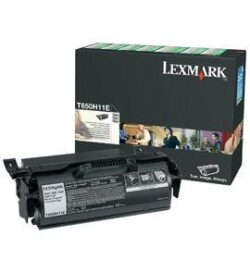 CARTUS TONER RETURN HC T650H11E 25K ORIGINAL LEXMARK T650