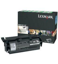 CARTUS TONER RETURN HC X651H11E 25K ORIGINAL LEXMARK X651DE
