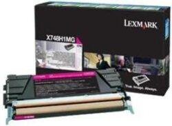 CARTUS TONER RETURN MAGENTA X748H1MG 10K ORIGINAL LEXMARK X748DE
