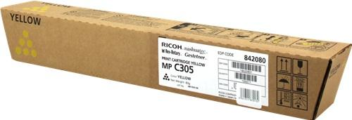 CARTUS TONER YELLOW 841597/842080 4K ORIGINAL RICOH AFICIO MP C305SP