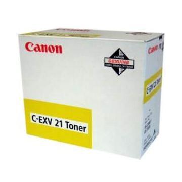 CARTUS TONER YELLOW C-EXV21Y 14K 260G ORIGINAL CANON IRC 2880