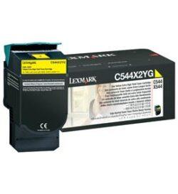 CARTUS TONER YELLOW C544X2YG 4K ORIGINAL LEXMARK C544N