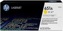 CARTUS TONER YELLOW NR.651A CE342A 16K ORIGINAL HP LASERJET M775DN