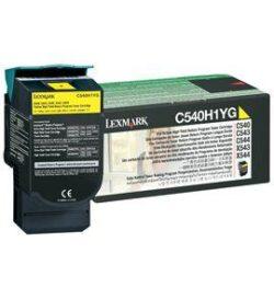 CARTUS TONER YELLOW RETURN C540H1YG 2K ORIGINAL LEXMARK C540N