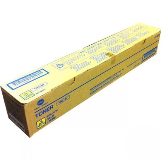 CARTUS TONER YELLOW TN-216Y A11G251 26K ORIGINAL KONICA MINOLTA BIZHUB C220