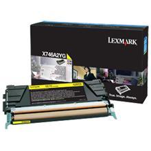 CARTUS TONER YELLOW X746A2YG 7K ORIGINAL LEXMARK X746DE