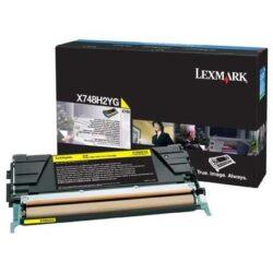 CARTUS TONER YELLOW X748H2YG 10K ORIGINAL LEXMARK X748DE