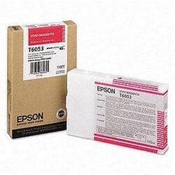 CARTUS VIVID MAGENTA C13T605300 110ML ORIGINAL EPSON STYLUS PRO 4880