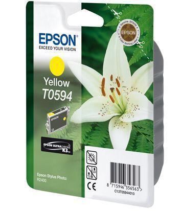 CARTUS YELLOW C13T05944010 13ML ORIGINAL EPSON STYLUS PHOTO R2400