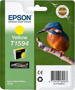 CARTUS YELLOW C13T15944010 17ML ORIGINAL EPSON STYLUS PHOTO R2000