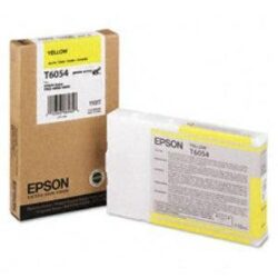CARTUS YELLOW C13T605400 110ML ORIGINAL EPSON STYLUS PRO 4800