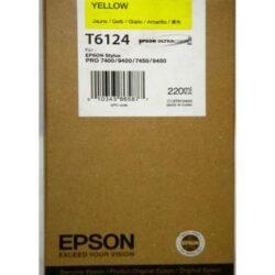 CARTUS YELLOW C13T612400 220ML ORIGINAL EPSON STYLUS PRO 7400