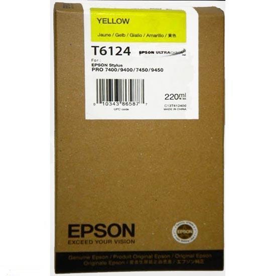 CARTUS YELLOW C13T613400 110ML ORIGINAL EPSON STYLUS PRO 4400