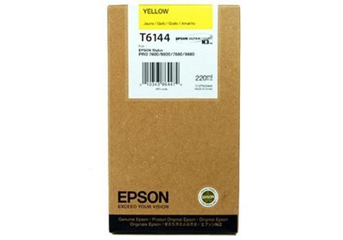 CARTUS YELLOW C13T614400 220ML ORIGINAL EPSON STYLUS PRO 4400