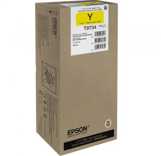 CARTUS YELLOW C13T973400 ORIGINAL EPSON WORKFORCE PRO WF-C869R