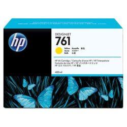 CARTUS YELLOW NR.761 CM992A 400ML ORIGINAL HP DESIGNJET T7100