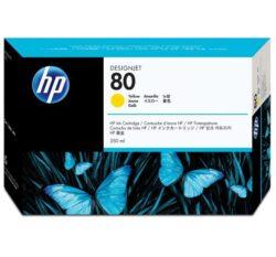 CARTUS YELLOW NR.80 C4848A 350ML ORIGINAL HP DESIGNJET 1050
