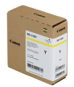 CARTUS YELLOW PFI-110Y 160ML ORIGINAL CANON TX-2000
