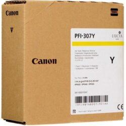 CARTUS YELLOW PFI-307Y 330ML ORIGINAL CANON IPF 830