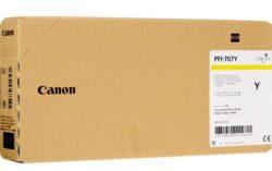 CARTUS YELLOW PFI-707Y 700ML ORIGINAL CANON IPF 830