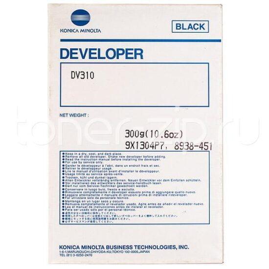 DEVELOPER DV-310 8938451 100K ORIGINAL KONICA MINOLTA BIZHUB 250