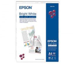 HARTIE CERNEALA EPSON BRIGHT WHITE 90G A4 500COLI C13S041749