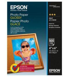 HARTIE CERNEALA EPSON PHOTO GLOSSY 10X15CM 200G 500COLI C13S042549