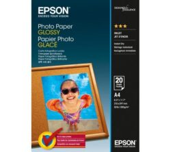 HARTIE CERNEALA EPSON PHOTO GLOSSY A4 20 COLI 200G