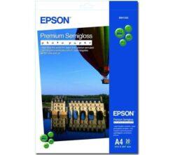 HARTIE CERNEALA EPSON PREMIUM SEMIGLOSS PHOTO A4 20 COLI C13S041332