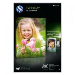 HARTIE CERNEALA HP EVERYDAY GLOSSY PHOTO 200G 100COLI 10X15CM CR757A