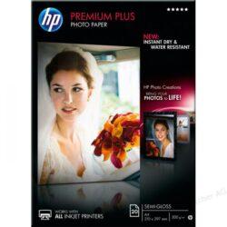 HARTIE CERNEALA HP PREMIUM PLUS SEMI-GLOSS PHOTO WHITE 300G A4 20COLI