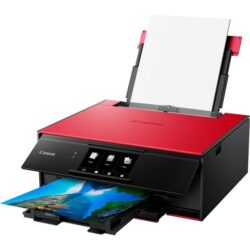 MULTIFUNCTIONAL CERNEALA CANON PIXMA TS9155 RED