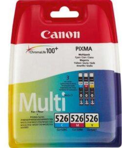 MULTIPACK CMY CLI-526 ORIGINAL CANON MG5150