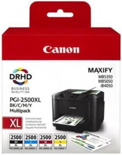 MULTIPACK PGI-2500XLBK/C/M/Y ORIGINAL CANON MAXIFY IB4050
