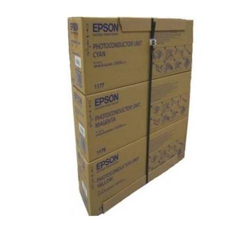 PHOTOCONDUCTOR UNIT CMY C13S051175CP 30K ORIGINAL EPSON ACULASER C9200