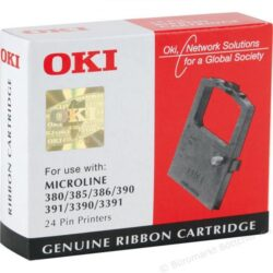 RIBON BLACK 9002309 3MIL ORIGINAL OKI ML380