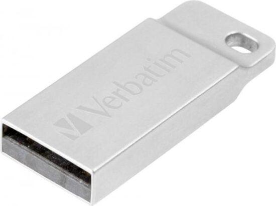 STICK USB VERBATIM METAL EXECUTIVE USB 2.0 DRIVE SILVER 32GB 98749