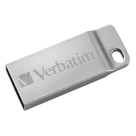 STICK USB VERBATIM METAL EXECUTIVE USB 2.0 DRIVE SILVER 64GB 98750
